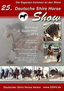 25 Deutsche Shirehorse Show